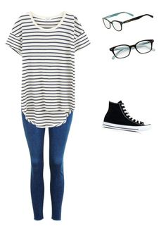 """""""ALLIE outfit"""" by vallie-evans on Polyvore featuring Topshop, Splendid, Converse and Kate Spade"""