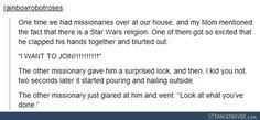 This is like Elder Price and Elder Cunningham. #Book of Mormon