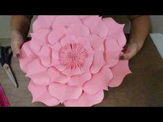 ABC TV | Cómo hacer la flor de papel de Rose con el sacador de la forma - Tutorial del arte - YouTube