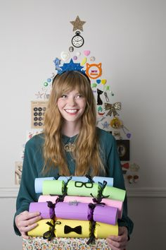 Tatty Devine Deluxe Christmas Crackers - A great way to spread the jewellery love this Christmas.