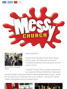 Jesus goes to the Seaside - Messy Church at Ivanhoe - February 2014.