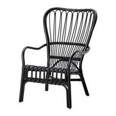 IKEA - STORSELE, Sessel mit hoher Rückenlehne, Handarbeit - jedes Produkt ist ein Einzelstück mit runden Formen und detaillierten Mustern.Möbel aus Naturmaterial sind leicht, dennoch stabil und langlebig.Stapelbar - spart Platz, wenn nicht in Gebrauch.