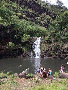 Waimea Valley  Waterfalls