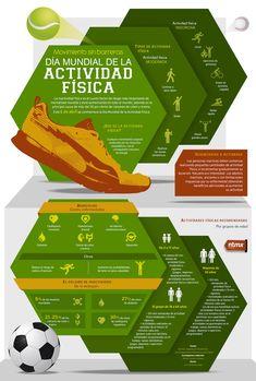 Día mundial de la actividad física #infografia #infographic