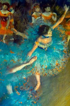 Edgar Degas Dancer Art Print Poster Prints by Edgar Degas at AllPosters.com