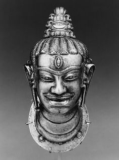 Head of Shiva (lingakosha). Vietnam (Champa, probably Quang Nam Province), late 9th–10th century © 2000–2012 The Metropolitan Museum of Art.