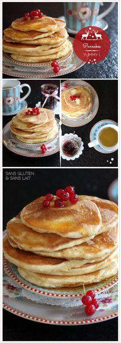 Pancakes sans gluten et sans lait www.reglisse-et-marmelade.fr ©reglisseetmarmelade2013