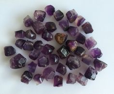 500 CT SCOOP NATURAL AMETHYST RAW ROUGH PURPLE LOT GEMSTONES MINERAL LOOSE ROCKS #ROUNDSNROSES