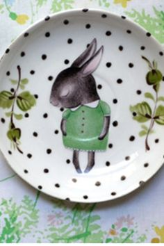 The cutest set of Spring / Easter dishes.