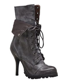 Love this VOLATILE Brown Combat Drill Boot by VOLATILE on #zulily! #zulilyfinds