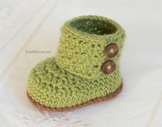 CROCHET PATTERN Cashmere Avocado Baby by HopefulHoneyDesigns