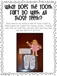 Keeping Up With The Kindergarteners: Dental Health Unit