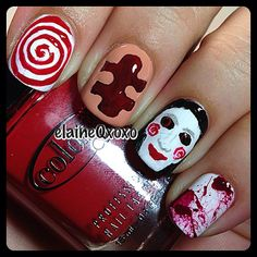 halloween by elaineqxoxo #nail #nails #nailart