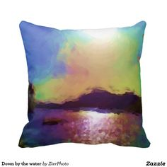 Down by the water pillows