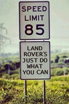 Maybe they would like to see what Land Rover can do off of the road?