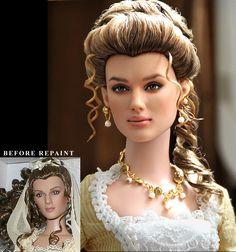 Repaint Doll - Keira Knightley by noeling.deviantart.com