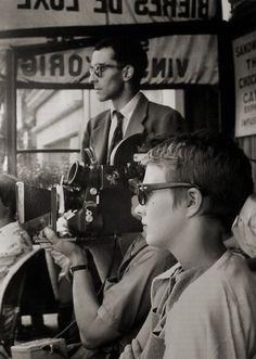 Jean-Luc Godard & Jean Seberg