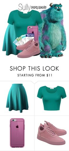 """Sully~ DisneyBound"" by basic-disney ❤ liked on Polyvore featuring Speck, Disney and Filling Pieces"