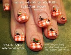 Robin Moses Nail Art Cute Harry Potter Tip Designs