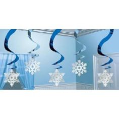 Shop Winter Wonderland Swirls (Pk Free delivery and returns on eligible orders of or more. Disney Frozen Party, Frozen Birthday Party, Monster Party, Frozen Christmas, Christmas Ideas, Winter Wonderland Party, Christmas Living Rooms, Xmas Decorations, Blog