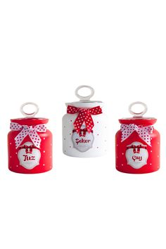 Kırmızı Çay Şeker Tuz Kavanoz Seti >>http://www.dekorazon.com/kirmizi-cay-seker-tuz-kavanoz-seti-detayi-15262