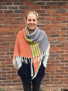 Ravelry: Cosy Colourblock Shawl pattern by Sarah Knight - Crafts from the Cwtch Designs