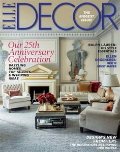 "Magazine Home Decor elle decor magazine – price: $4.50 with coupon code: decor | ""elle"