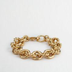 Factory gold-plated chain-link bracelet - Bracelets - FactoryWomen's Jewelry - J.Crew Factory