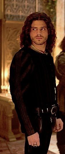 Francois Arnaud as Cesare Borgia. Those leather pants!!! Be still my heart!