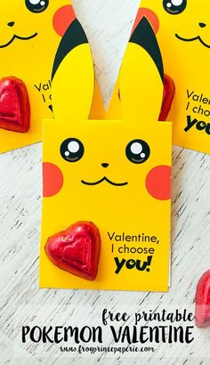 Pokemon Valentine s Day Valentine Cards Set of by, Free Printable Pokemon Valentine Frog Prince Paperie. It S The Valentine S Season Say It In Official Pokemon. Pokemon Valentine Cards, Kinder Valentines, Diy Valentines Cards, Valentines For Boys, Valentine Crafts, Valentine Ideas, Homemade Valentines, Valentine Wreath, Free Printable Valentine Cards