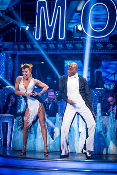Strictly Come Dancing 2015 - Natalie and Ainsley - Week 3
