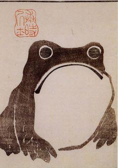 "lotlaxolotl: """"""""Matsumoto Hoji : Frog 1814"