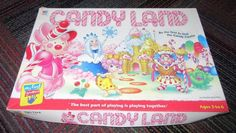 2001 HASBRO MILTON BRADLEY MY FIRST GAMES CANDY LAND BOARD GAME, GUC #MiltonBradley