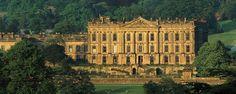 Chatsworth House.  Pride and Prejudice film locations.
