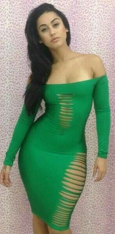 47e23a665e 2014 new fashion women s strapless bandage dresses Latest Sexy Green Cut  Out bodycon dress slim evening wear party clubwear(China (Mainland))