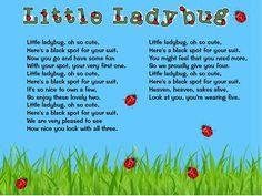 Classroom Freebies: Little Ladybug song