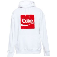 JOYRICH X COKE Hooded Sweatshirt with Faux Fur Logo ($260) ❤ liked on Polyvore featuring tops, hoodies, sweatshirt hoodie, hooded sweatshirt, unisex hoodies, hoodie sweatshirts and faux fur hoodies