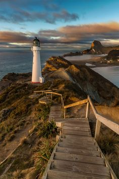 Castle point at sunrise by Darrenp - The Lighthouse Photo Contest