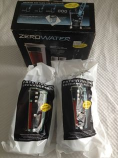 2 Pack ZeroWater ZR-017 5-Stage Ion Exchange Replacement Filter Zero Water