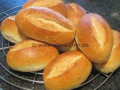knusprig – luftige Frühstücks-Brötchen « kochen & backen leicht gemacht mit Schritt für Schritt Bilder von & mit Slava