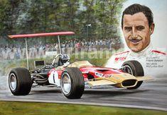 F1 Racing, Drag Racing, Caricatures, Lotus Car, Lotus Auto, Ferrari F12berlinetta, Classic Race Cars, Old Race Cars, Vintage Race Car