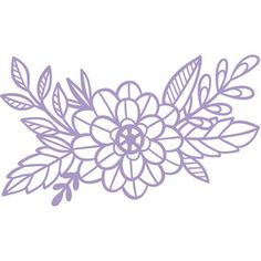 Ideas for embroidery flowers pattern templates floral design Floral Embroidery Patterns, Embroidery Monogram, Embroidery Hoop Art, Vintage Embroidery, Flower Patterns, Embroidery Stitches, Wedding Embroidery, Embroidery Sampler, Flower Clipart
