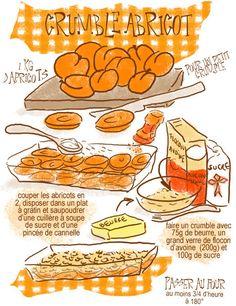 Tambouille» Crumble abricot