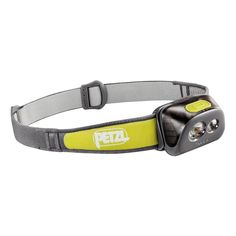 PETZL TIKKA®+ HEADLAMP :: Be a smarter night strider by seeing and being seen by all that's in your path in dark or low-light conditions with the Petzl Tikka®+ Headlamp. Get 160 lumens of constant lighting technology, offering a mixed beam (wide, focused or red for discretion), a red strob light, boost mode, and guaranteed constant brightness over time