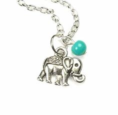 Another piece. There's just something about elephant jewelry.