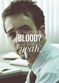 Hell to the yeah, I love this movie (and book). And I loved Edward more than Brad. That's right. you heard me. [Fight Club]