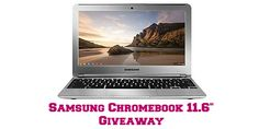 ENDS TONIGHT! Samsung Chromebook 11.6 Giveaway! One lucky reader will receive the Samsung Chromebook 11.6″!