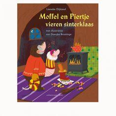 Lemniscaat - Dubbel prentenboek - Moffel en Piertje vieren Sinterklaas en Kerst € 16,95