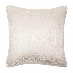 Jacquard Brown Cushion