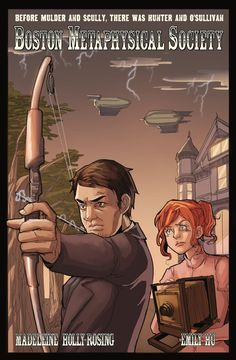 Are you a fan of the supernatural? Mysteries? Steampunk? Well this web comic has all three! Check out Boston Metaphysical Society, written by my former classmate, Madeleine Holly-Rosing. http://www.bostonmetaphysicalsociety.com/